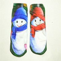 OLN AEL24-38 Spring Kawaii Animal Cartoon Socks Funny Women's Giraffe Socks Korea Cute strips tube sokken Creative Design Mei
