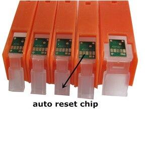 Image 4 - 6 מדפסת דיו עבור CANON pixma MG7740 TS8040 TS9040 PGI 470 CLI 471 מחסנית דיו refillable + 6 צבע צבע דיו 100 ml