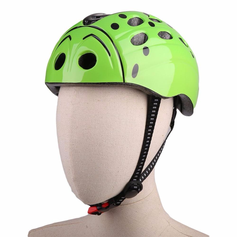 Prix pour Ultra-léger unisexe eps + pc + pp + nylon vélo vélo vélo beetle head eps casque réglable pour enfants