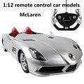 1:12 дистанционного управления автомобилем модели, McLaren электрический спортивный автомобиль, пластиковые diecasts, toy транспорт, educational toys gifts, бесплатная доставка