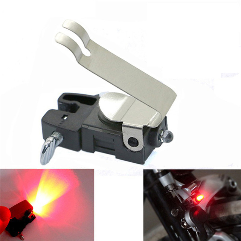 High-Brightness Red LED Lights Bicycle Accessories For Bicycle Rear Taillights Bicycle Brake  Lights 31mmx16mm  #25