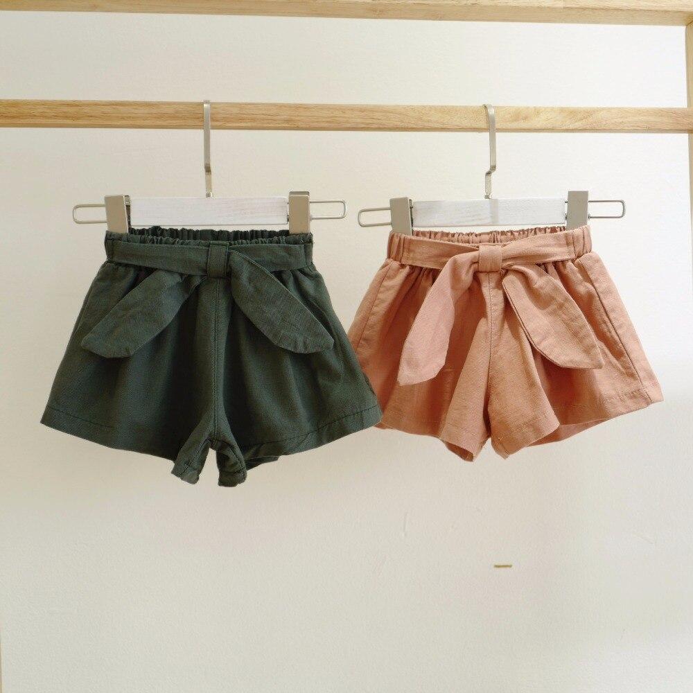 1-5y Peuter Meisjes Zomer Katoenen Shorts Casual Zomer Kinderkleding Baby Meisjes Kleding Shorts P