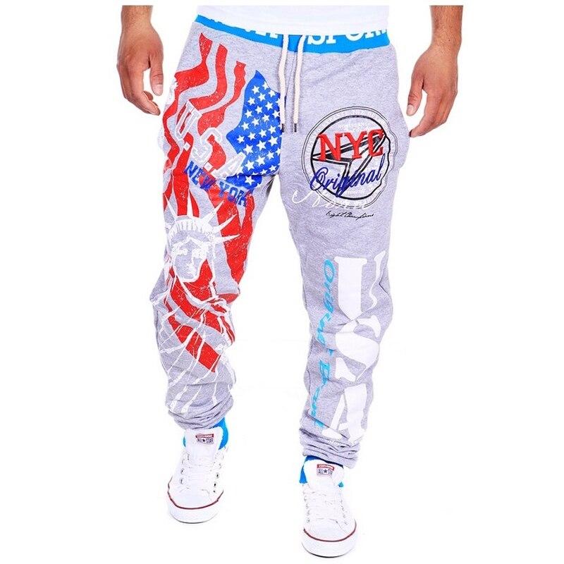 Бесплатная доставка 2017 взрыв модели тренировочные брюки Итальянский флаг печати дизайн повседневные брюки