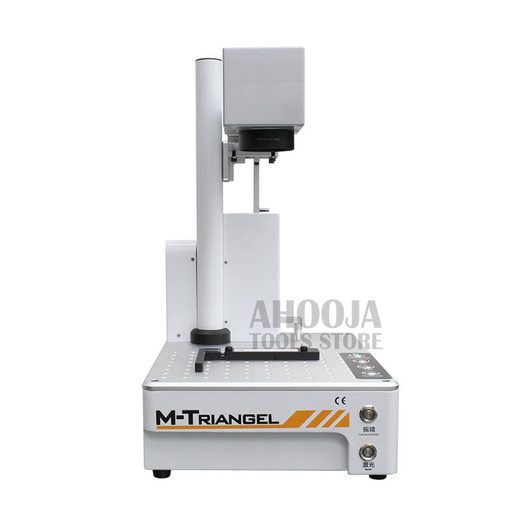 M-Triangel Laser Cutting Machine for <font><b>iPhone</b></font> XS XSMAX X 8P <font><b>8</b></font> <font><b>Back</b></font> <font><b>Glass</b></font> Remover LCD Frame <font><b>Repair</b></font> Laser Separating Machine image