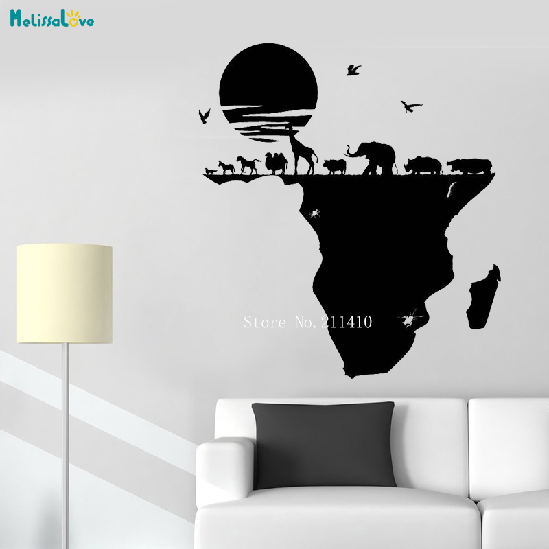US $5.5 31% OFF|Africa Map Wall Sticker World with Wild Animals Vinyl Wall Map Decal on map facebook covers, map wall mirror, map wall artwork, west point decal, diamond window decal, map wallpaper, wrench decal, map wall graphics, pirate life decal, map wall clock, trd hood decal, map paper, map united states football league, map wall mural, map your neighborhood, map with title, map shirt, nautical compass decal, wwp decal, map kashmir conflict,