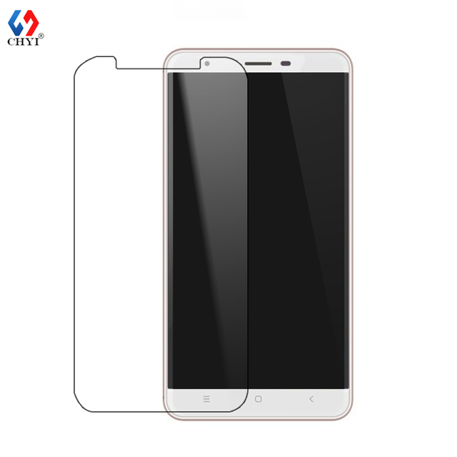 For OUKITEL U15 PRO tempered glass screen protector 9H hardness 0.26mm ultra thin CHYI Brand clear glass scratch proof