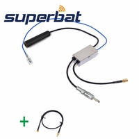 Superbat DAB Car Radio Aerial FM AM To DAB FM AM Antenna Converter Splitter With MMCX