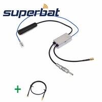 Superbat DAB Car Radio Aerial FM AM To DAB FM AM Antenna Converter Splitter With MMCX