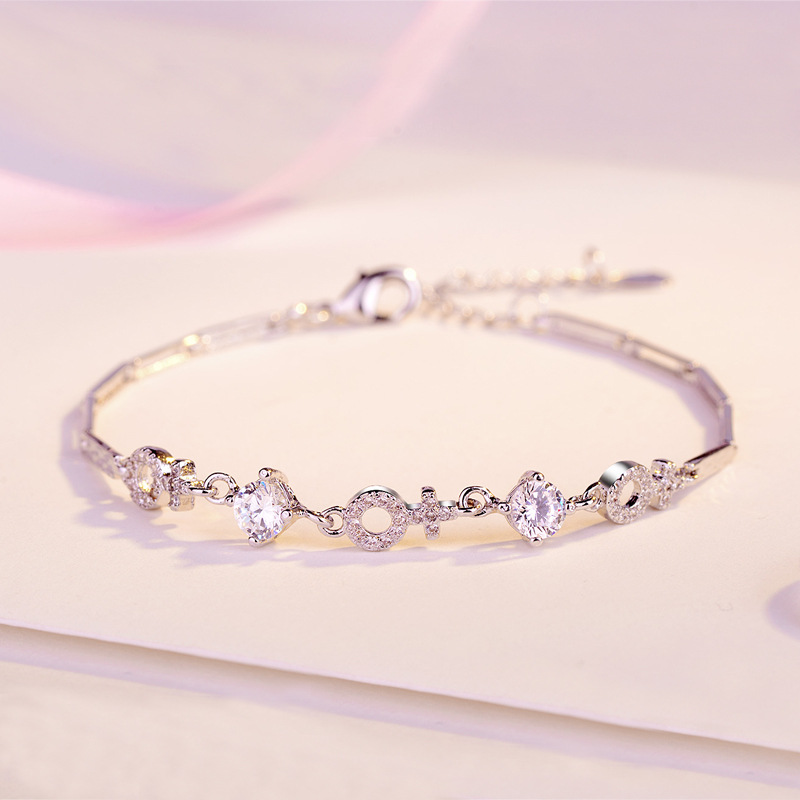 ZTUNG MDS6 New 2019 Classic bracelet fine jewelry simple and fashion 925 silver bangle a plant