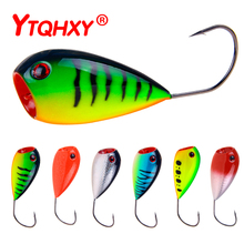 YTQHXY 1Pcs Popper Fishing Lure Croatian EGG Floating CrankBait Swim Hard Bait 80mm 13g Single Hook Topwater Fish Tackle WQ160A
