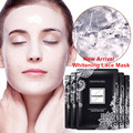 Face Care Collagen Mask White Lace Moisturizing Hydrogels Facial Mask Skin Whitening Oil Control Deep Cleansing Shrinking Pores