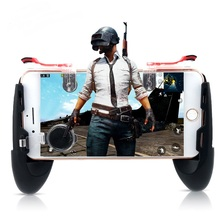 Data Frog For Pubg Game Gamepad For Mobile Phone Game Controller l1r1 Shooter Trigger Fire Button For iphone Xiaomi Huawei
