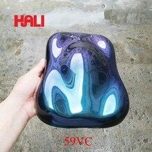 Хамелеон пигмент, пудра хамелеон, цветной порошок с зеркальным эффектом, пункт: 59VC, цвет: фиолетовый-голубовато-зеленый, вес: 10 грамм, широко используется в красках, ногтей