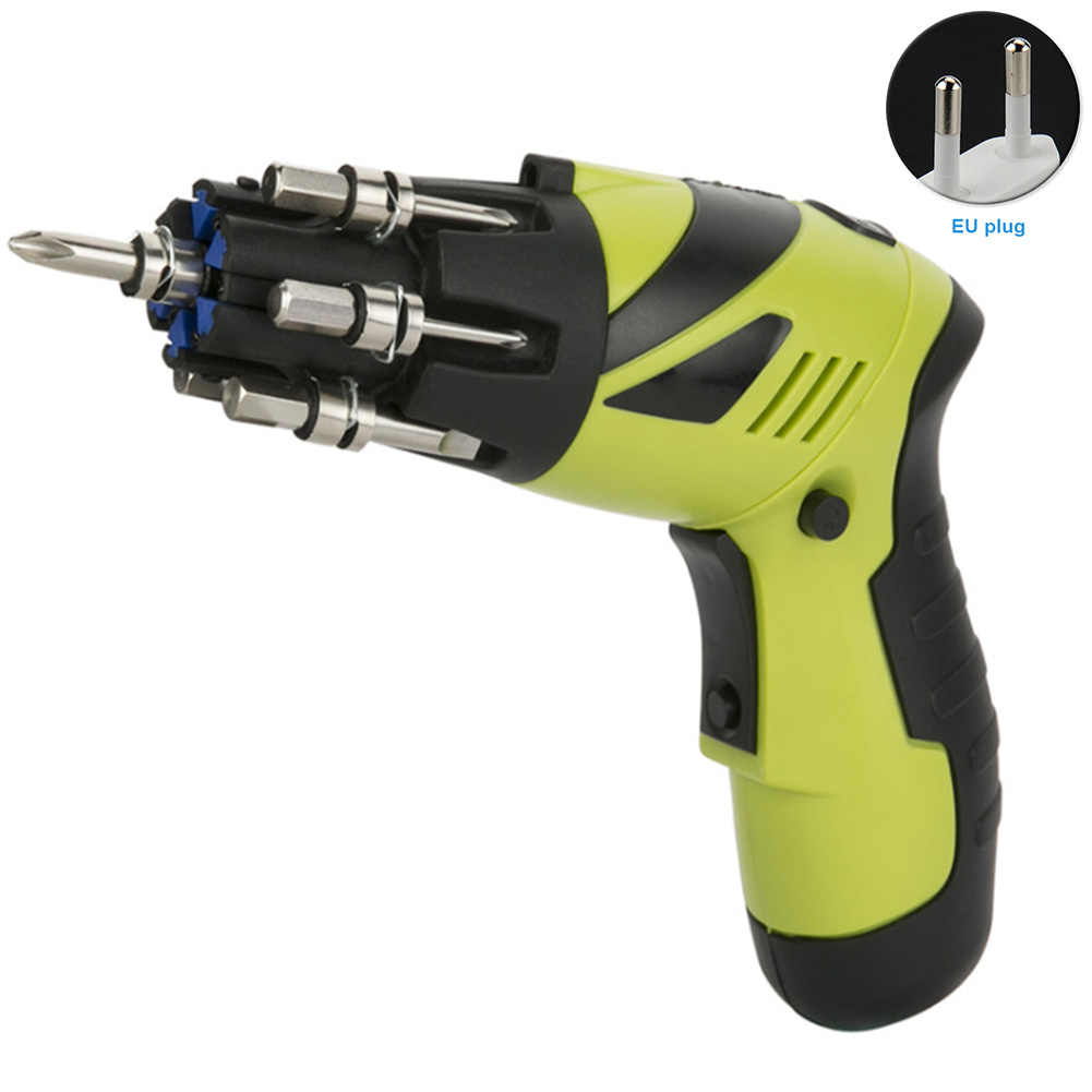 Power Display Cordless Drill Home Work Multifunction Electric Screwdriver  Tool DIY Handheld Driver Rechargeable Led Non-Slip