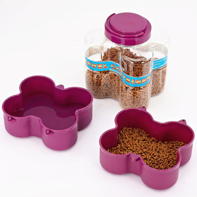 Bajila Outdoor Portable Airtight Pet Food Barrel Storage Pet Bowl Multifunctional Barrel For Dog Cat Drink & Bajila Outdoor Portable Airtight Pet Food Barrel Storage Pet Bowl ...
