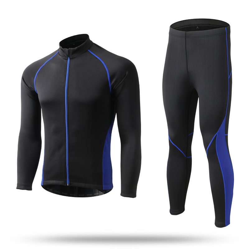 Cycling Clothing Tights Long Sleeves Winter Warm Cycling Jersey Jacket Suits Sets Ropa Ciclismo Bicileta Bike Maillot MTB Bike veobike men long sleeves hooded waterproof windbreak sunscreen outdoor sport raincoat bike jersey bicycle cycling jacket