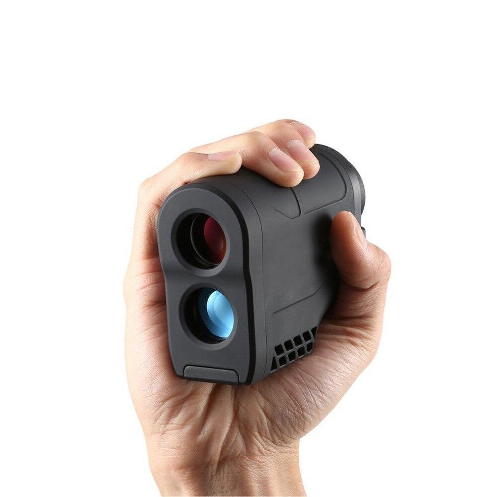 600M 6X Handheld Monocular Digital Laser Rangefinder Teles Distance Meter Hunting Rangefinder 600M Golf Distance Meter kaman mk 60 1 8 lcd handheld laser distance meter rangefinder black red multi colored