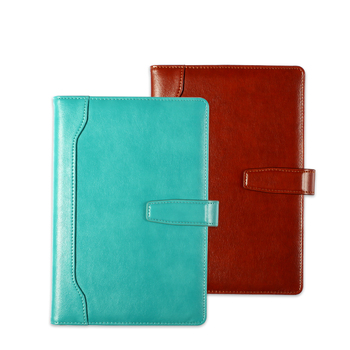 Notebook Thickened Leather Business Meeting Notebook A5 Working Record Notebook