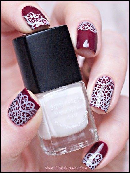 Online Shop 6ml White Nail Art Stamping Polish Born Pretty Nail
