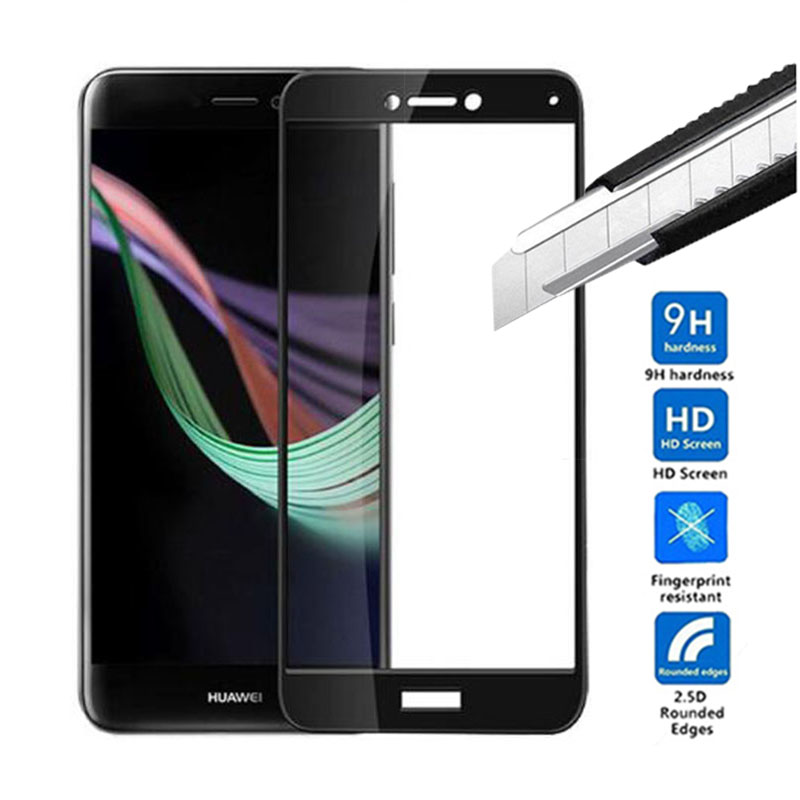Screen Protector For Huawei P9 Tempered Glass For Huawei P9 Glass Protective phone Film Full Cover Tempered Glass