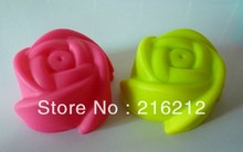 3cm MINI Rose-shaped Silicone Muffin Cake Cupcake Cup Cake Mould Case Bakeware Maker Mold Tray Baking Jumbo
