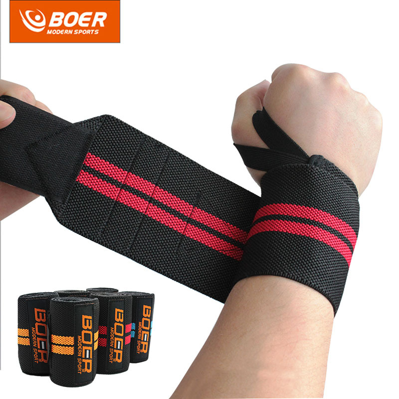 1Pcs Weight Lifting Sport Wristband Gym Wrist Brace Thumb Support Strap Wraps