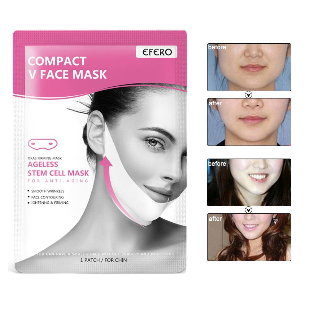 V Line Mask Lifting Firming Moisturizing Face Masks Neck Tightening  Shape