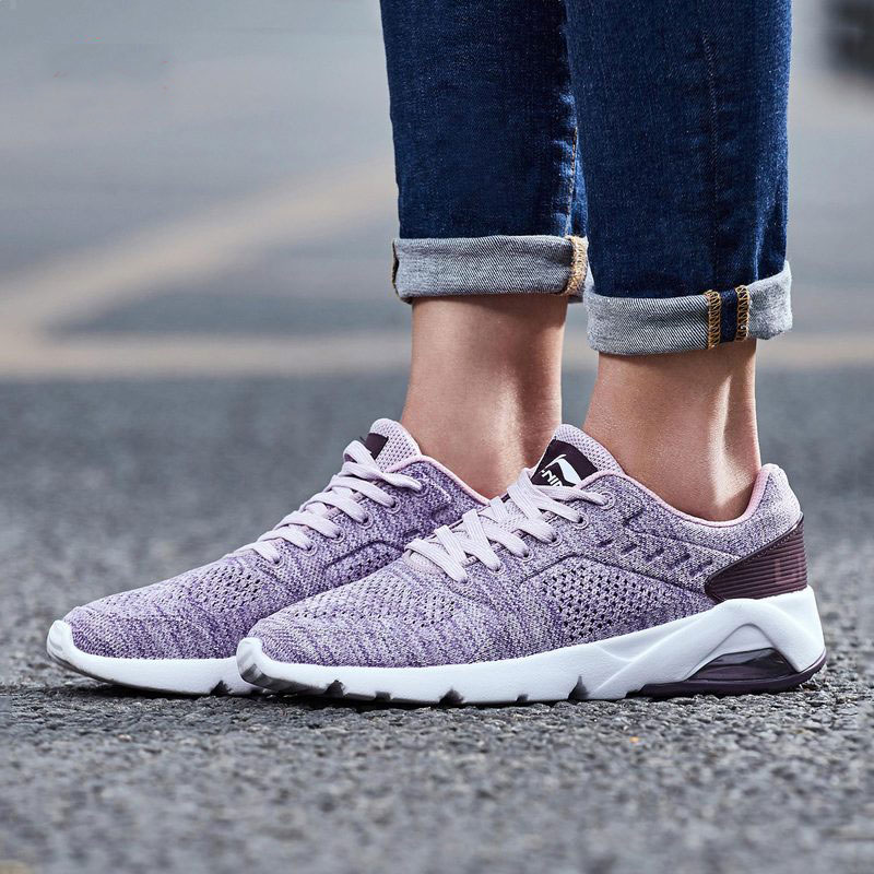 Li Ning Women BUBBLE ACE SC Walking Shoes Breathable Comfort LiNing Sports Shoes Light Sneakers AGCN036