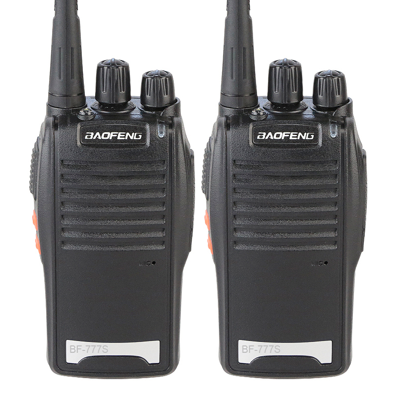 2PCS Cheap Original Baofeng Wireless Professional 5W Max UHF BF-777S Walkie Talkie