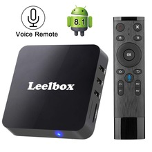 2018 New Version Leelbox Q2 Android 8.1 TV Box Ram 2GB Rom 16GB with BT 4.0 Supporting 4K (60Hz) Full HD/H.265/WiFi TV Box