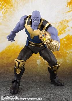 SHFiguarts SHF Thanos Marvel Avengers Infinity War BJD Action ตัวเลขของเล่นสำหรับคริสต์มาสวันเกิดของขวัญ