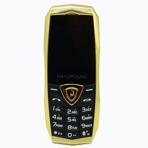Image 2 - MAFAM A18 ロシア語アラビア語スペインフランス振動高級金属ボディ車のロゴデュアル sim gsm 中国の携帯電話在庫