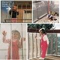 Новые детские прозрачные утолщенные ограждения  защищающие сетку  балкон  детский забор  безопасная сетка для безопасности ребенка  для бал...