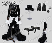 Kuroshitsuji Black Butler Ciel Phantom Cosplay Costume