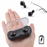 2018 New High Quality Mini In Ear Earphone Wireless Earpiece Sport Blutooth Earphone Handsfree