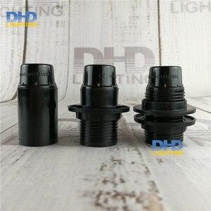 (100 шт./лот) оптовая цена E14 бакелитовые разъемы пластиковые E14 CE держатели ламп 110В/220В 4 вида стилей евро стандарт. Осветительные базы