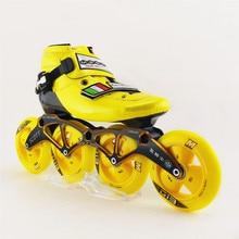 Professional font b Speed b font Skating Shoes Good Quality Adults Roller font b Skate b