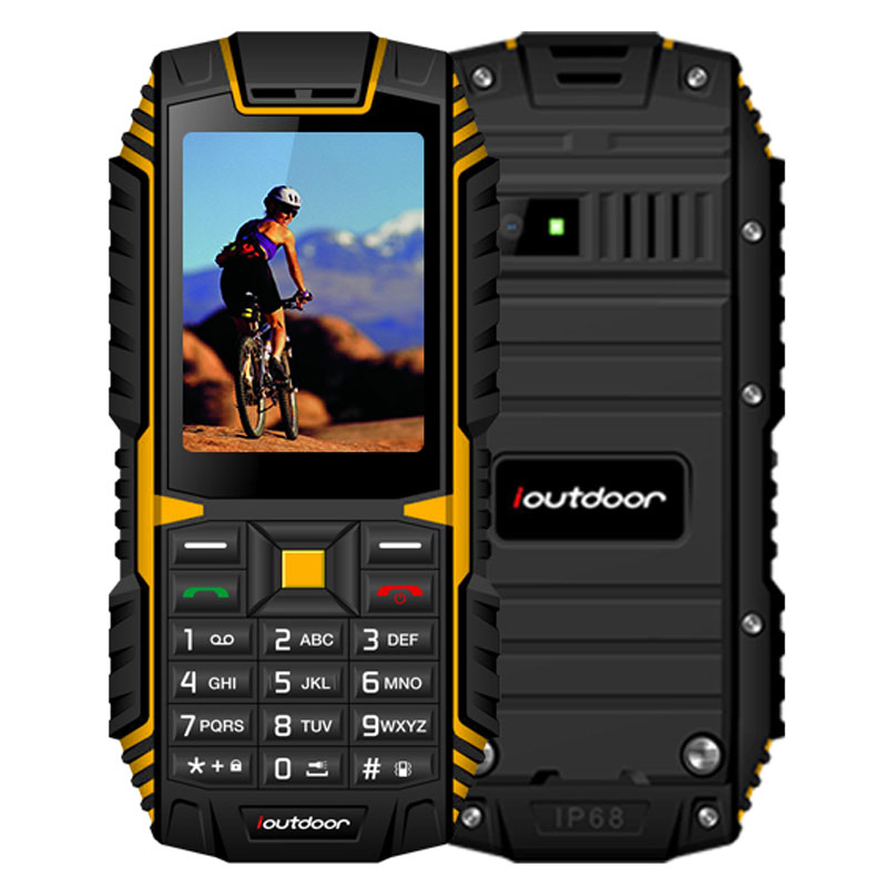 MAFAM IP68 Waterproof Dustproof Shockproof Mobile Phone 2.4'' 2G 128M+32M 2MP Back Camera