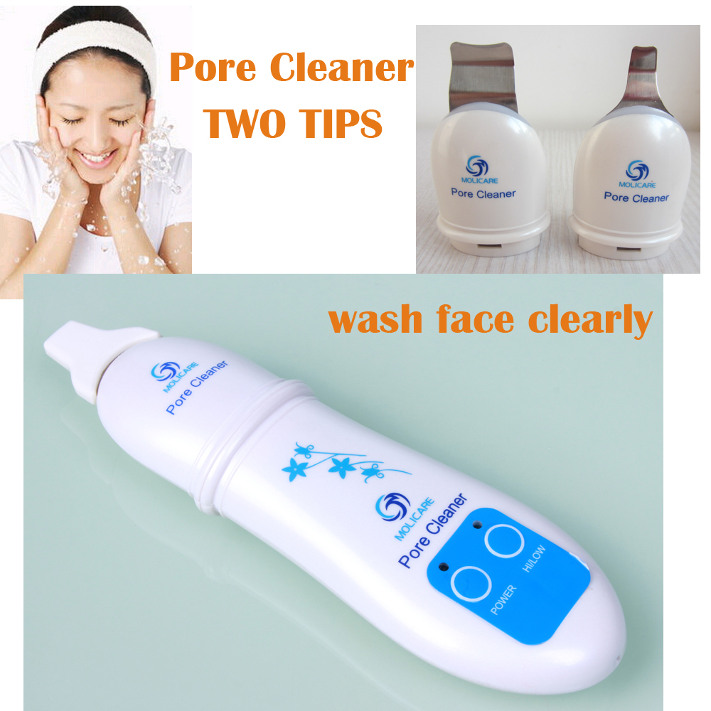 Pore Cleaner Facial Cleaner Facial Massage Ultrasonic Digital Massager Skin Care for Adult 1mhz facial body skin care cleaner massager massage clean face beauty ultrasonic health equipment 110 240v