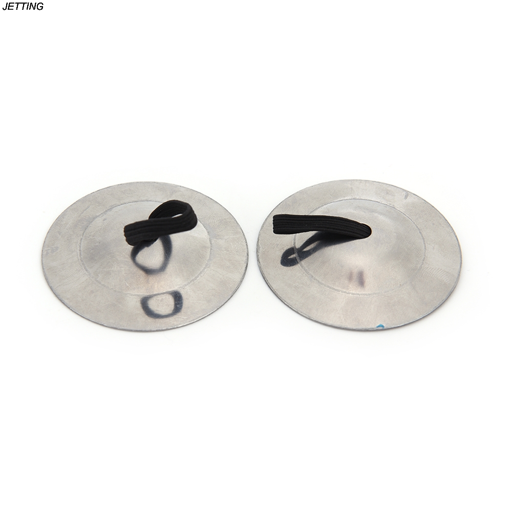 2PCs Finger Cymbal Belly Dance Finger Cymbals Instrument Parts  AccessoriTS