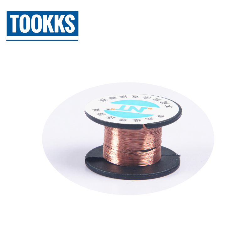 Kaisi 10pcs/Lot 0.1mm  PCB Link Wire Copper Soldering Wire Maintenance Jump Line Phone Computer Repair Tools BGA Soldering Wire