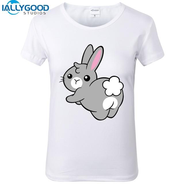 Aliexpress.com : Buy New Summer Funny lovely Bunny soft ass T ...