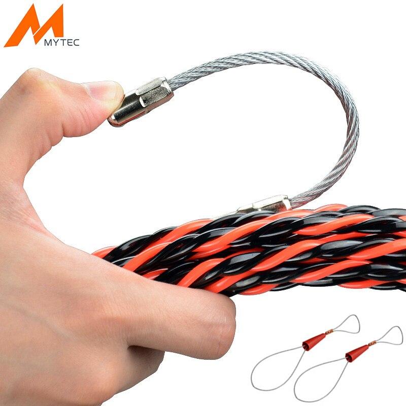 Elektrische Draht Einfädler 5/10/15/20/25/30/50 mt Elektriker Threading Gerät draht Kabel Laufen Puller Blei Bau Werkzeuge