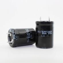 250 V 220 мкФ 220 мкФ 250 V Объем электролитного конденсатора 22X30X25X25 лучшего качества