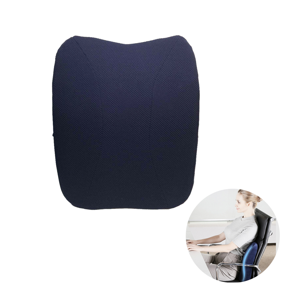 Surprising Us 18 8 40 Off Lumbar Support Cushion Pillow For Pain Relief Posture Correction For Office Chair Car Seat Navy Blue In Neck Pillow From Creativecarmelina Interior Chair Design Creativecarmelinacom