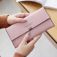Selling Long Wallet Wallet Students More Simple Fashion Function Ladies Wallet Wallet