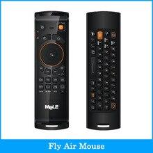 Mele F10 Deluxe 2.4 GHz Fly Air Ratón Del Teclado QWERTY Inalámbrico de Control Remoto con Función de Aprendizaje de IR para Android TV caja