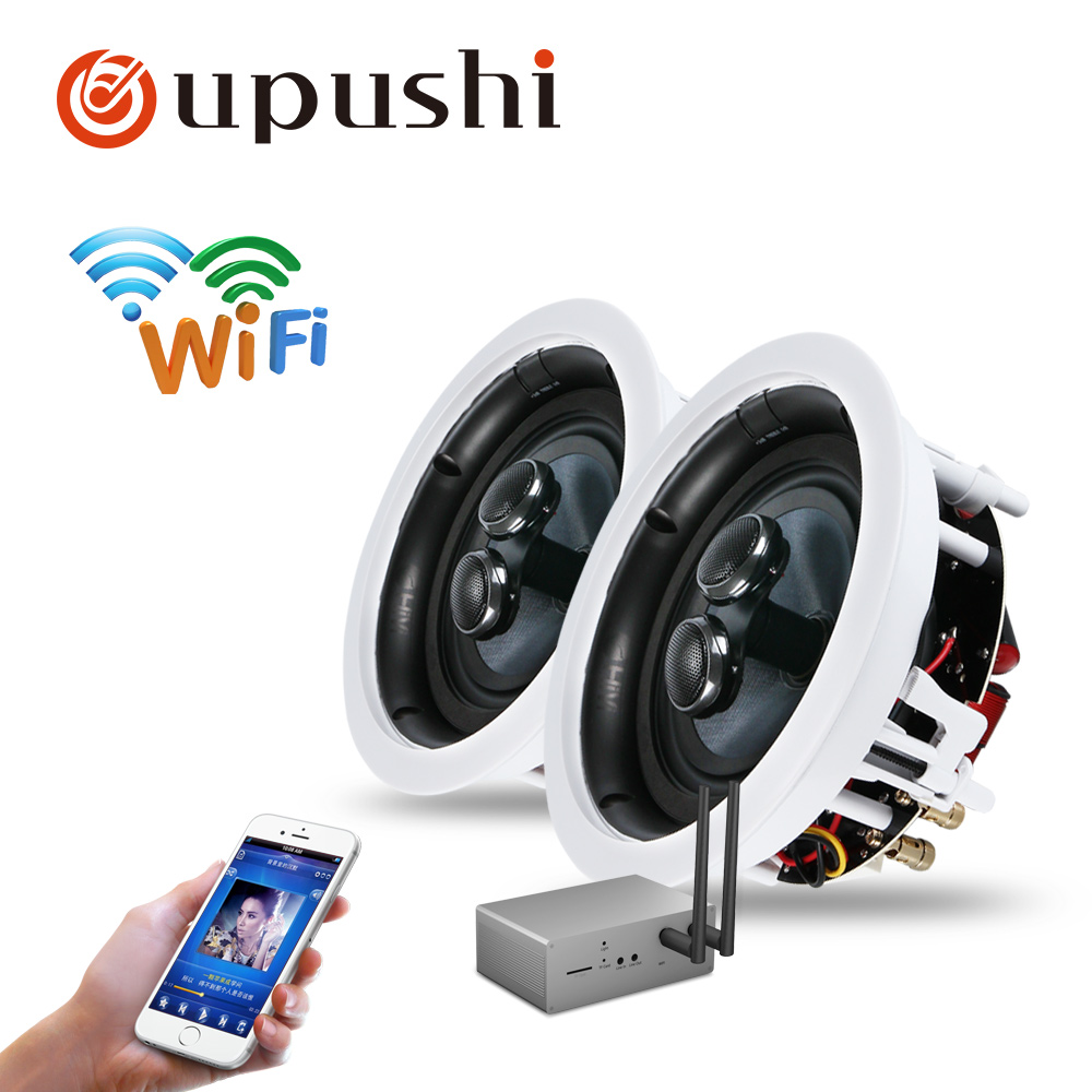 Wifi in ceiling speakers oupuhsi hifi home theatre system best roof loudpseakers home audio with wifi amplifier