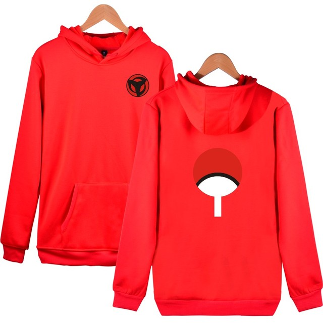 Naruto Sweatshirts Uchiha Syaringan Men/women