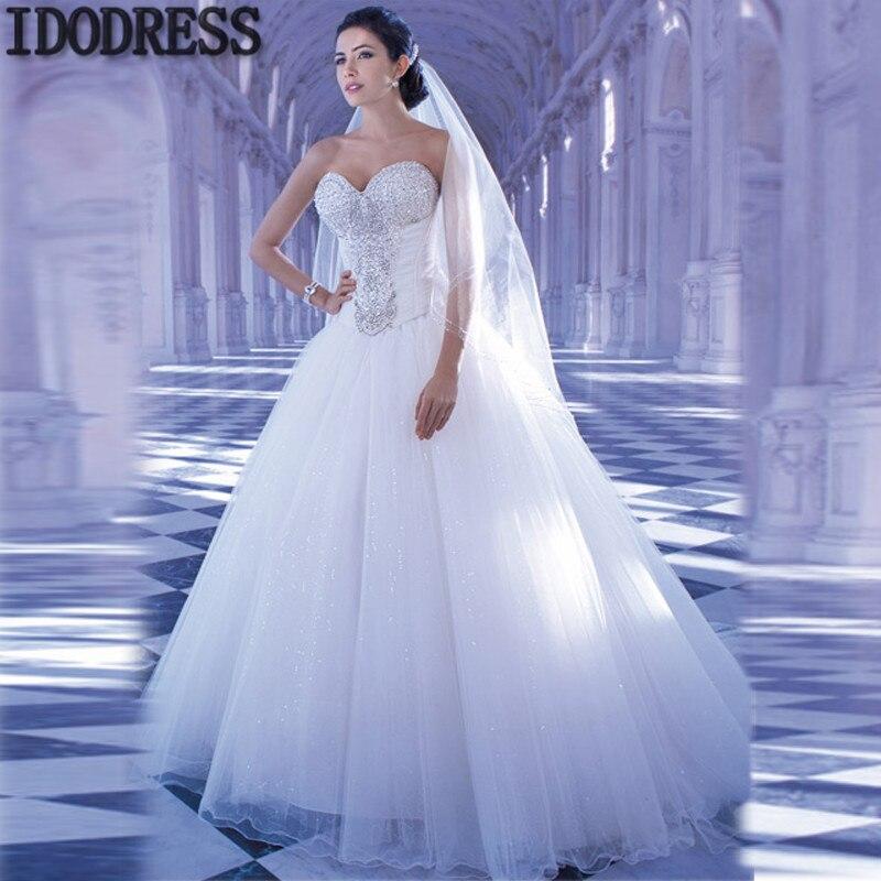 Lujo Vestido Novia Elegante Ideas Ornamento Elaboración Festooning ...